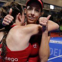 Lección táctica de Marta Marrero y Marta Ortega ante sus ex para remontar en Marbella hasta el título