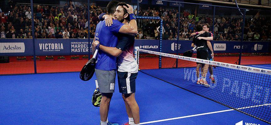 Sanyo Gutiérrez y Maxi Sánchez marcan territorio y conquistan el Master de Marbella 2019