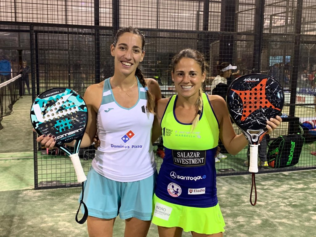 teresa navarro y mari carmen villalba primera ronda cuadro femenino wpt marbella master 2019
