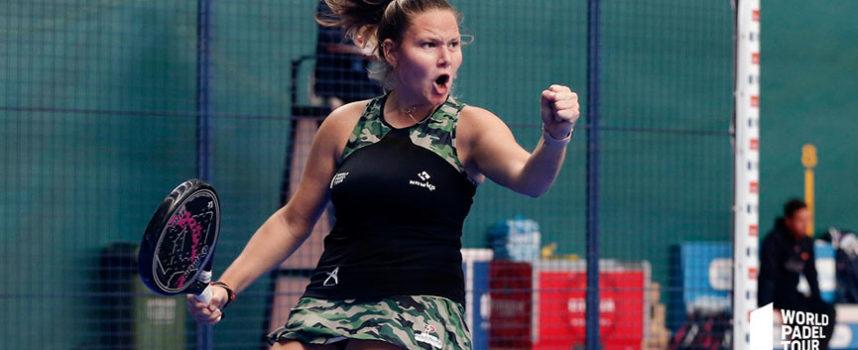 Calma tensa en los octavos femeninos del Logroño Open 2019