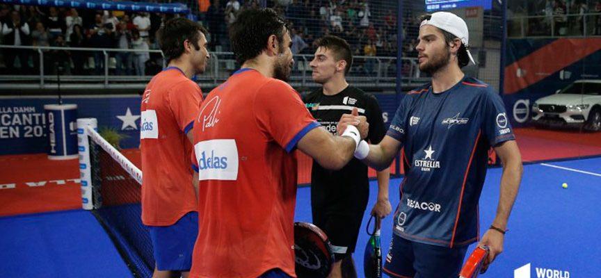 El descaro lleva al límite a los favoritos en las semifinales masculinas del Alicante Open 2019