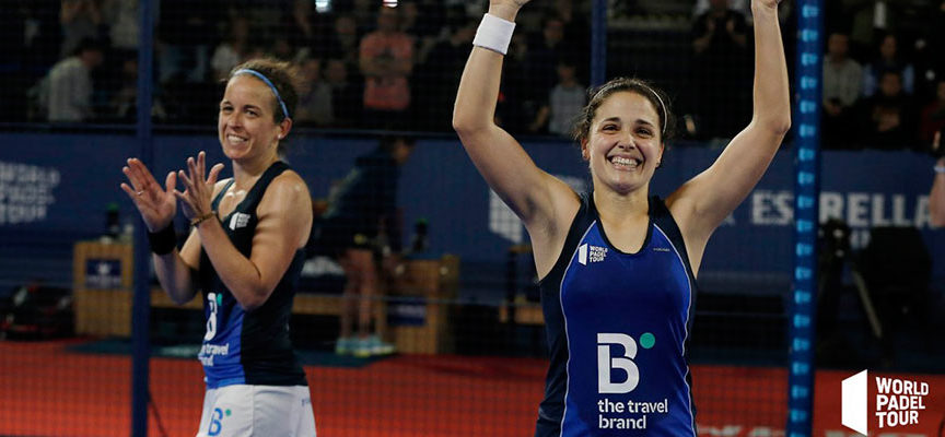Poderío y mucho dramatismo en cuartos femeninos del Logroño Open 2019