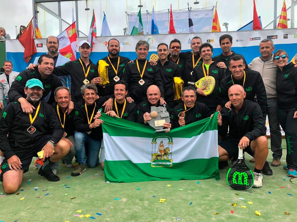 andalucia-campeona-campeonato-espana-padel-selecciones-autonomicas-veteranas-2019
