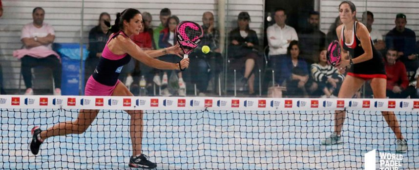 El emergente talento sevillano se abre paso en la preprevia femenina del Open de Vigo