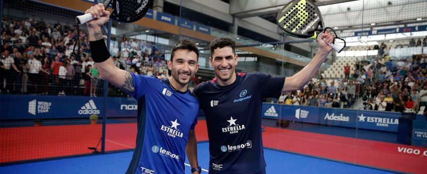 Maxi y Sanyo domestican la final de Vigo para sumar su tercer título de 2019
