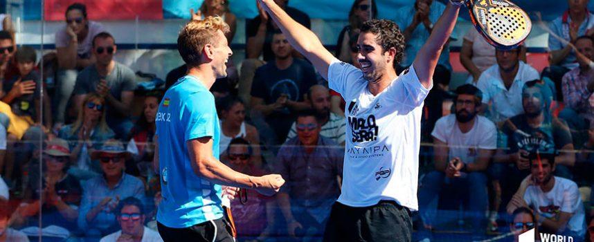 Dos pujantes duplas se invitan desde octavos a la fiesta de los favoritos en Valladolid