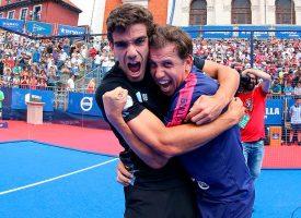 Lebrón y Paquito encuentran la grieta para remontar la final del Master de Valladolid