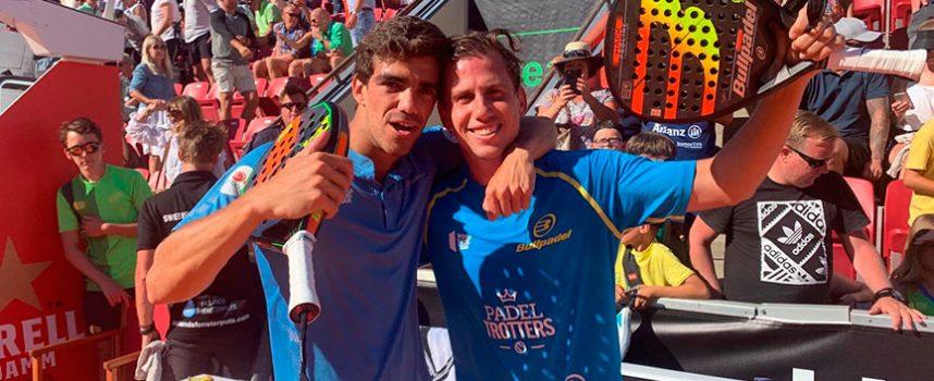Cuatro parejas exhiben su identidad en los cuartos de final masculinos del Open de Suecia