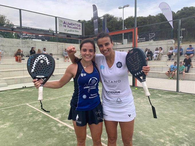 paula josemaria ana catarina nogueira octavos final femeninos valladolid master 2019