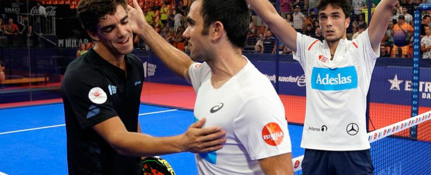 Valencia asistirá a una final inédita entre los verdugos de los favoritos y dos veteranos con mucho oficio
