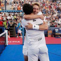 Apoteosis en cuartos del Mijas Open 2019: la triunfal exhibición de los indomables Álex Ruiz y Martín Sánchez Piñeiro conquista la grada