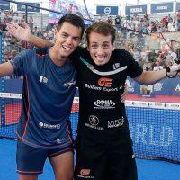 El talento de Coki Nieto y Javi Rico les hace 'locales' en el Mijas Open para pelear por su primer título