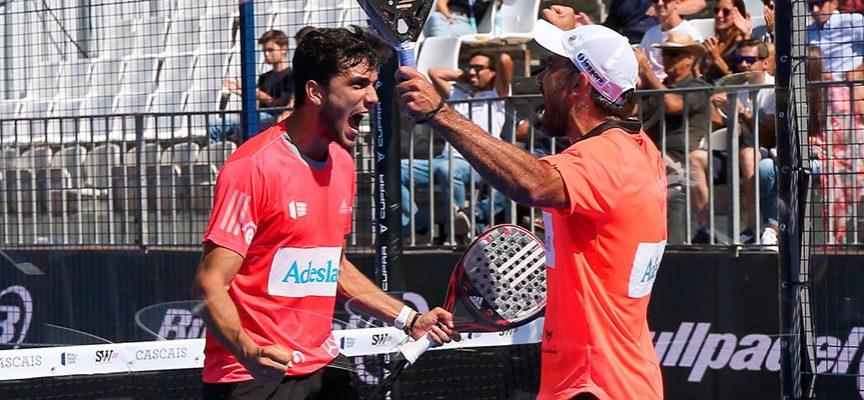 Galán y Lima conquistan el triplete en el interminable Master de Portugal