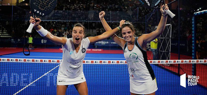 Master de Madrid 2019: Paula y La Portu encumbran su destape con su primer título