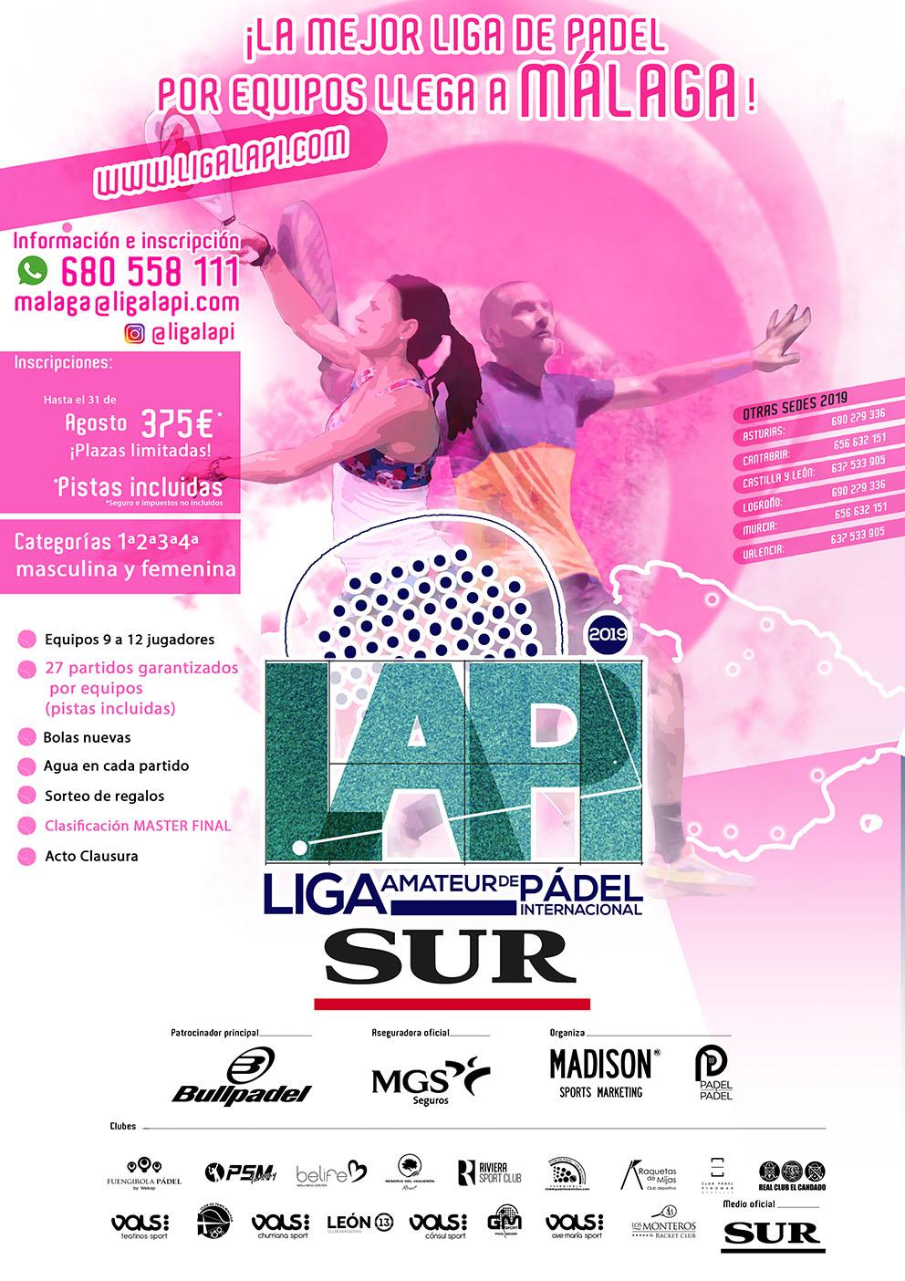 cartel liga lapi malaga madison 2019 2020