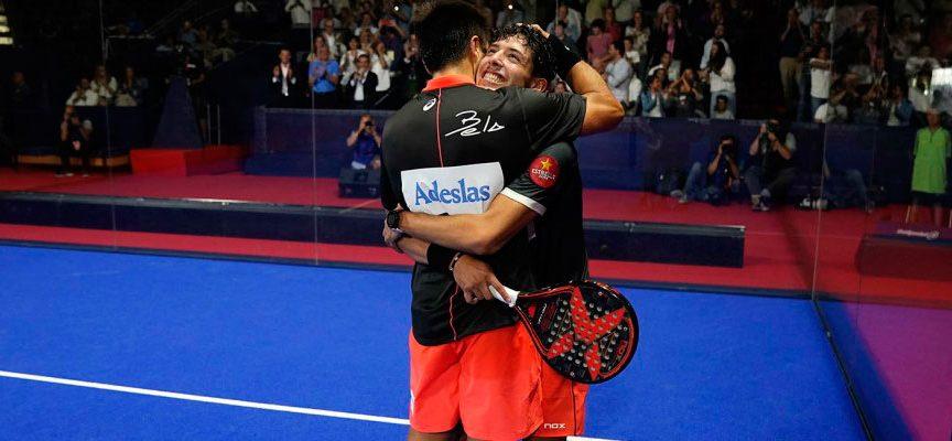 Tapia y Bela aprueban su fórmula ante los números 1 en el Master de Madrid