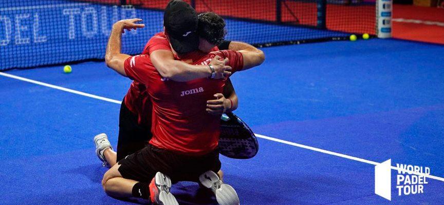 Sacudida tremenda en los cuartos masculinos del Master de Madrid 2019