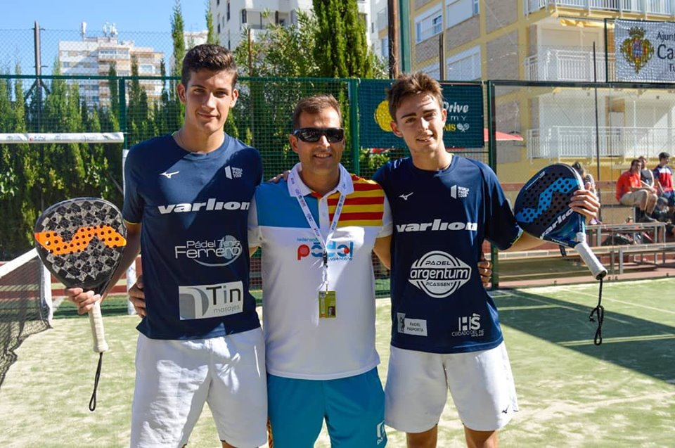 campeones sub 18 edu alonso alex arroyo