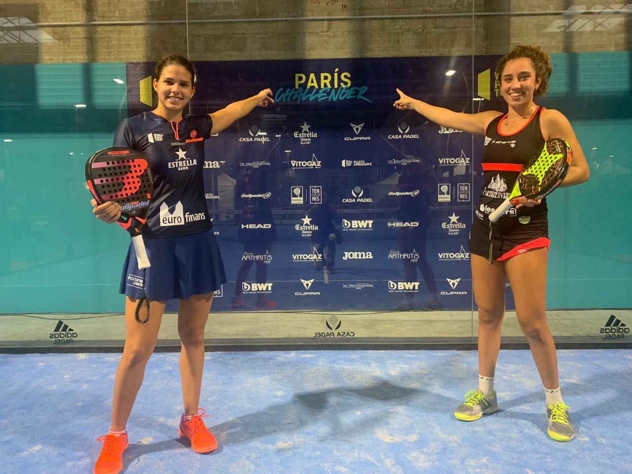 delfi brea bea gonzalez challenger paris world padel tour 2019