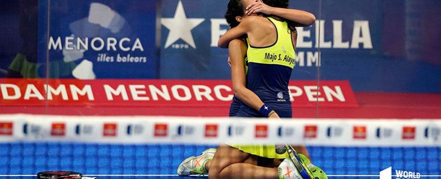 Lágrimas de alegría y frustración en los trepidantes cuartos femeninos del Open de Menorca