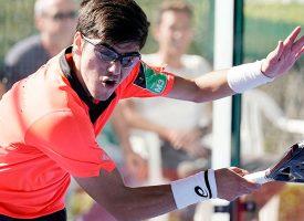 Tremendo exterminio de favoritos en la previa masculina del Menorca Open 2019