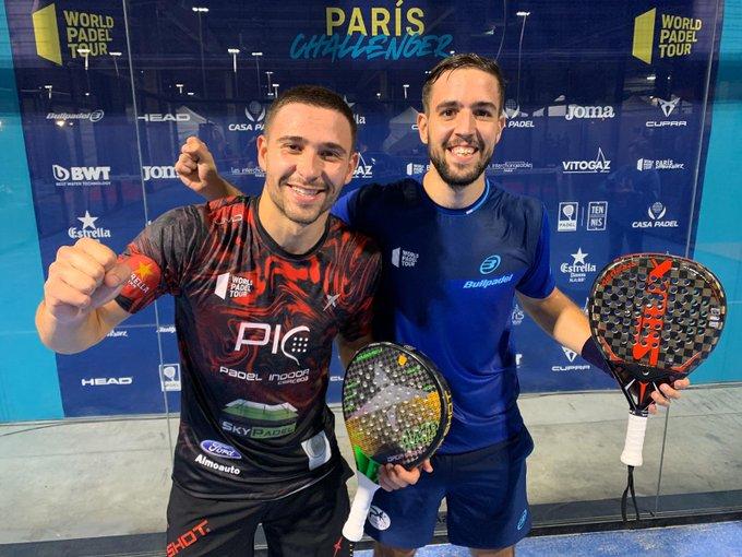 lucas campagnolo lucho capra challenger paris world padel tour 2019