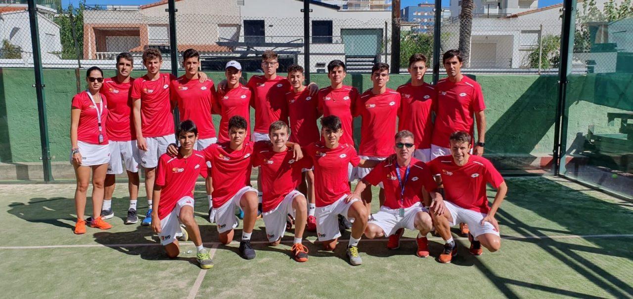 selecciones masculina espana mundial padel menores 2019