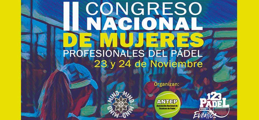 II Congreso de Mujeres Profesionales en el Pádel: el foro de ANTEP busca coger vuelo
