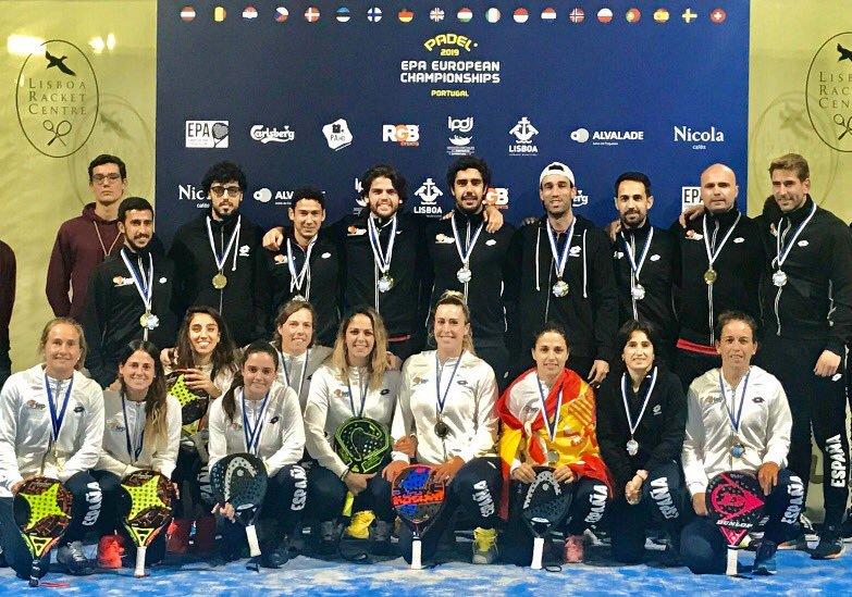 espana campeona europa padel epa 2019