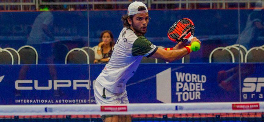 Garrido y Di Nenno marcan el paso en el arranque del Open de Sao Paulo