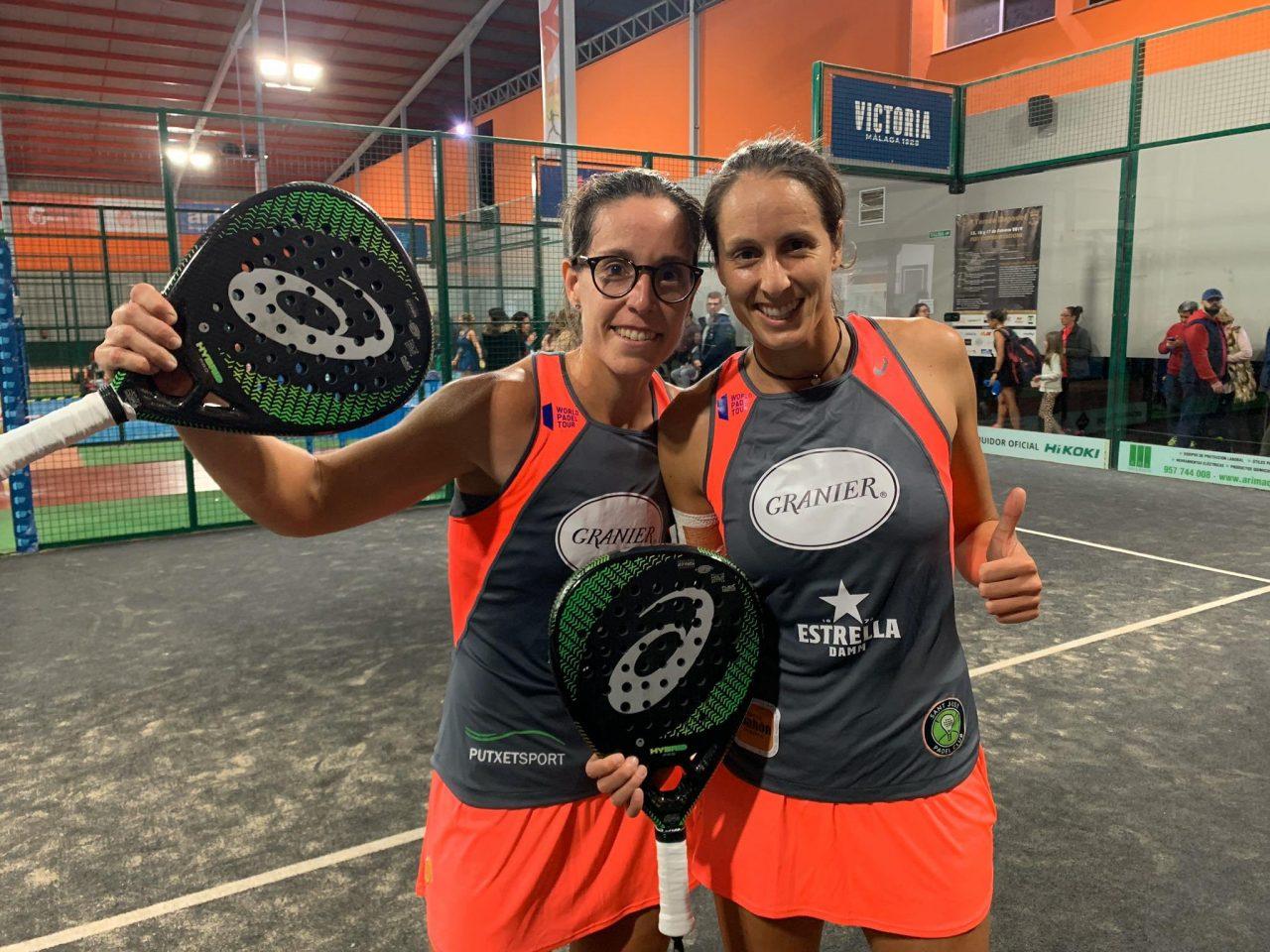lucia sainz y gemma triay dieciseisavos-femeninos-wpt-cordoba-open-2019