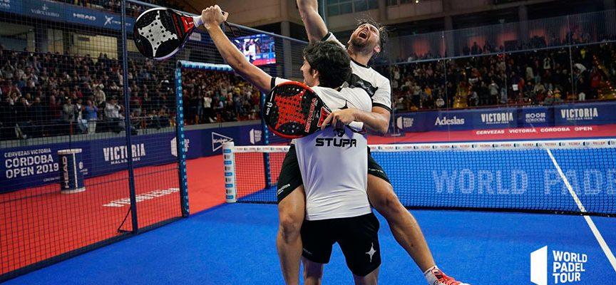 Mati y Stupa desatan su pádel en Córdoba para conquistar su primer título WPT de 2019