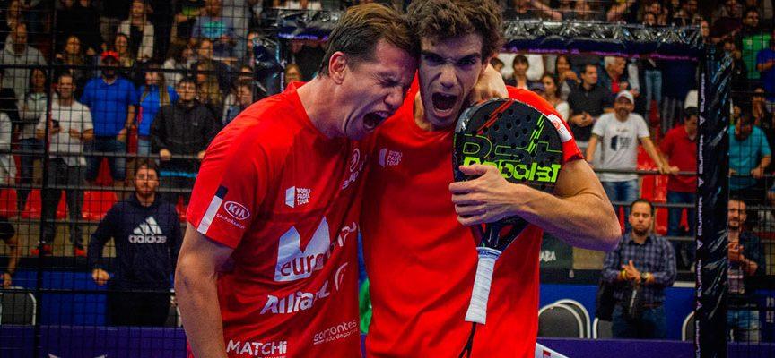 Sao Paulo entrega el repóker a Paquito y Lebrón que se apoderan del número 1 hasta el Master Final