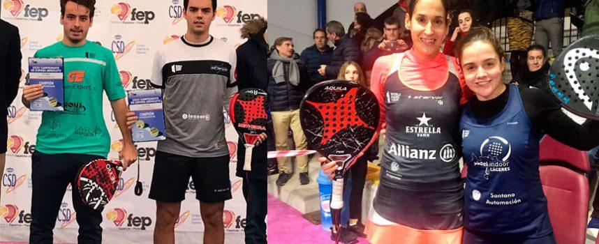 Campeonato de España de Pádel 2019: el descaro se abre paso en el frío para asaltar el trono