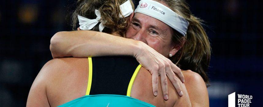 Revolcón y un triunfo por aplastamiento en la primera jornada de cuartos femeninos del Master Final 2019