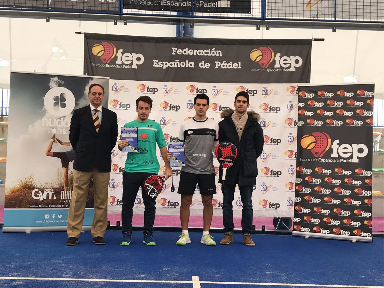 javi rico coki nieto campeones espana padel 2019
