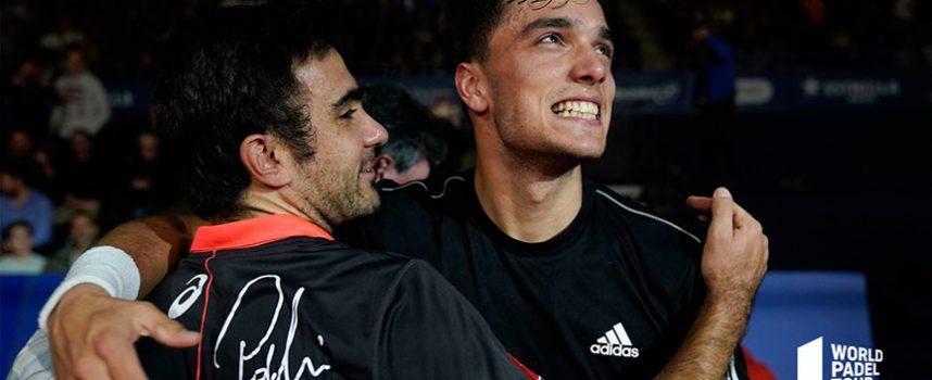 Galán y Lima licencian su alianza con el título en el Master Final 2019