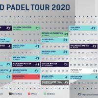 Calendario World Padel Tour 2020: 20 torneos en 8 países y muchas novedades
