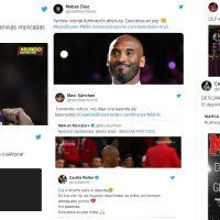 El pádel reacciona a la muerte de Kobe Bryant