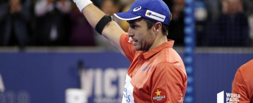 Fernando Belasteguin le dice adiós a Asics