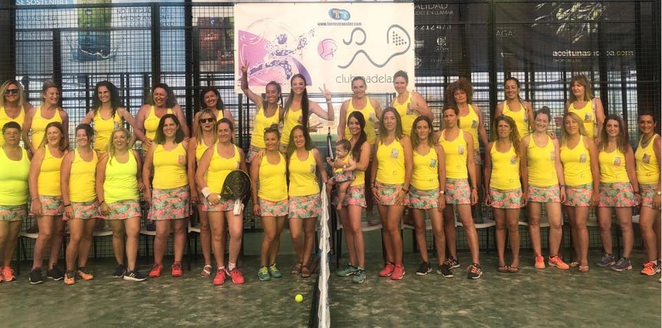 equipaciones padeli 13 liga femenina padelazo