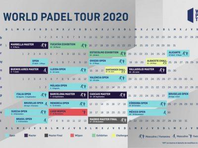 World Padel Tour cambia su calendario de torneos por el Mundial de Pádel 2020