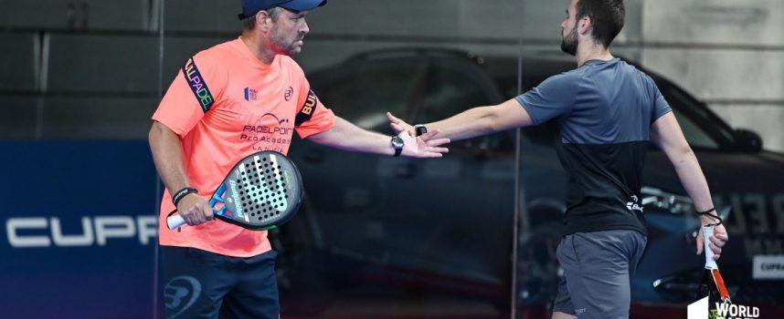 La preprevia masculina del Estrella Damm Open 2020 deja varios zarpazos