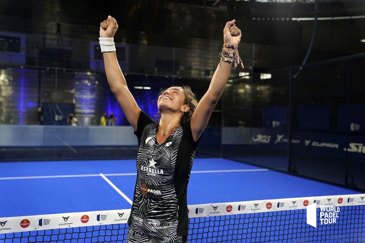 Bea Gonzalez campeona world padel tour vuelve a madrid open 2020