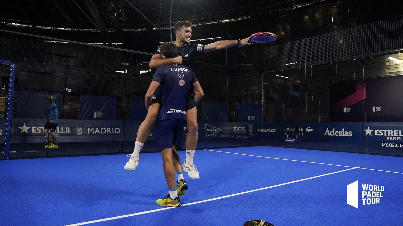 alejandro galan juan lebron campeones final masculina vuelve a madrid open 2020