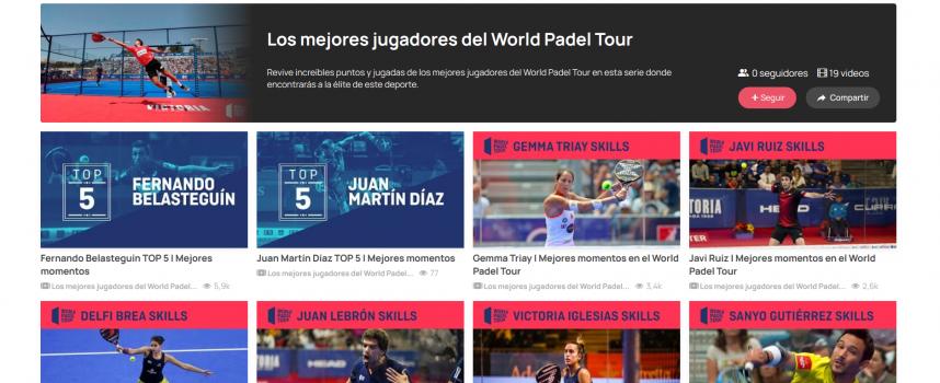Los mejores jugadores de World Padel Tour en Tokyvideo