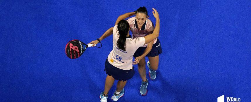 Revolución en los cuartos femeninos: Sofía Araújo y Virginia Riera descalbagan a las campeonas