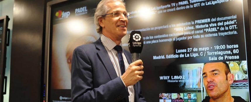 """Ramón Morcillo, candidato a la presidencia de la FEP: """"La Federación Española no puede estar en organismos paralelos, España tiene que estar en la oficialidad"""""""