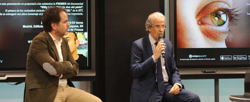Ramón Morcillo, nuevo presidente de la Federación Española de Pádel