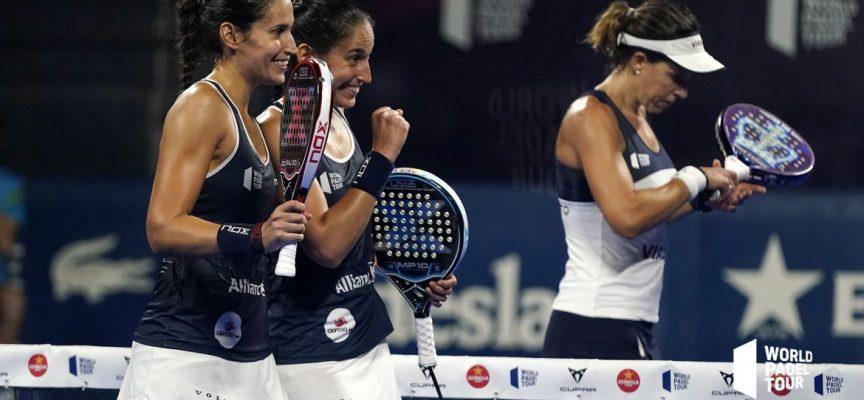Las campeonas repiten y las gemelas se apuntan a la gran batalla de semifinales del Adeslas Open